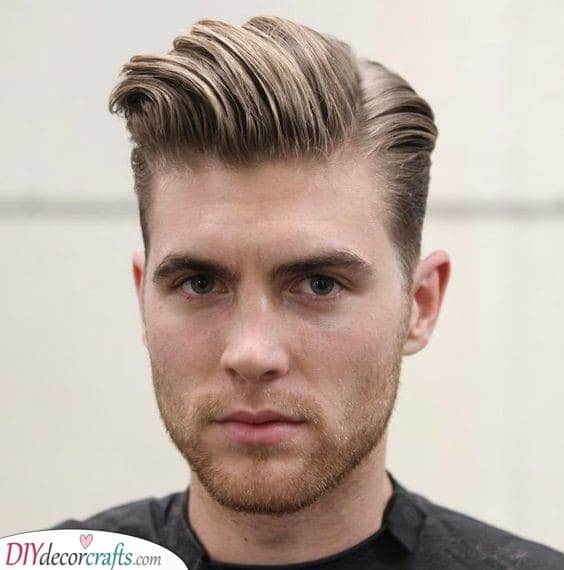 Heightened Hairstyle - Short Hairstyles for Men