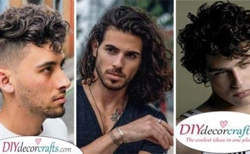 20 CURLY HAIRSTYLES FOR MEN - Hairstyles for Curly Hair Men