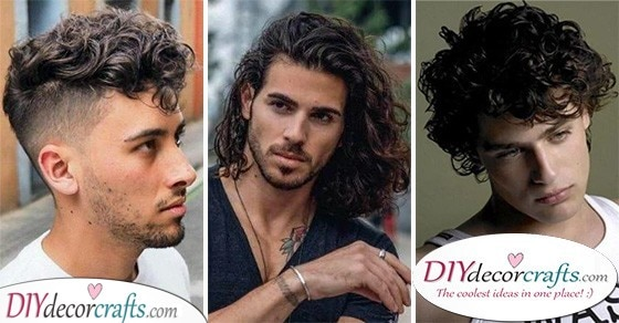 Curly Hairstyles For Men Hairstyles For Curly Hair Men