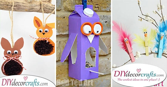 30 EASY SPRING CRAFTS FOR KIDS - The Best Spring Craft Ideas