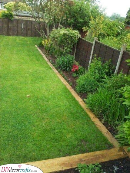 A Clean Border - Creative Garden Edging Ideas