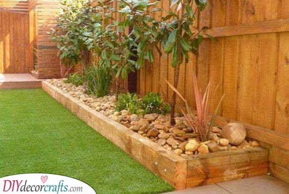 Inspiration for Raised Flower Beds - Lawn Edging