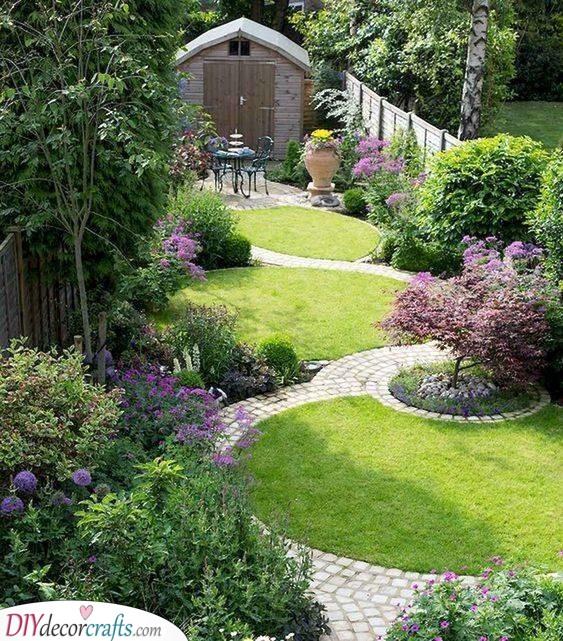 A Garden of Flowers - Very Small Garden Ideas on a Budget