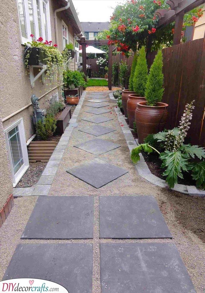 A Path Leading to the Garden - Small Garden Design Ideas