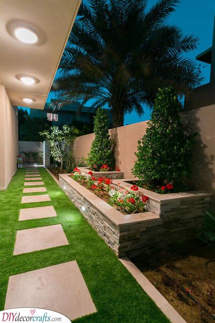 Elegant and Blissful - Small Garden Ideas