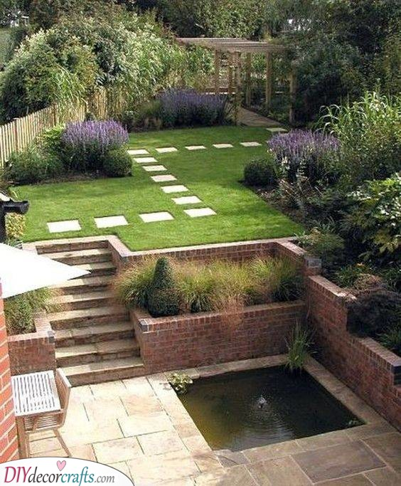 Adding Special Effects - Very Small Garden Ideas on a Budget