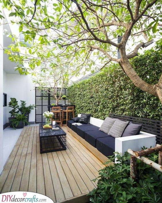 Modern and Stylish - Creating Seating Space