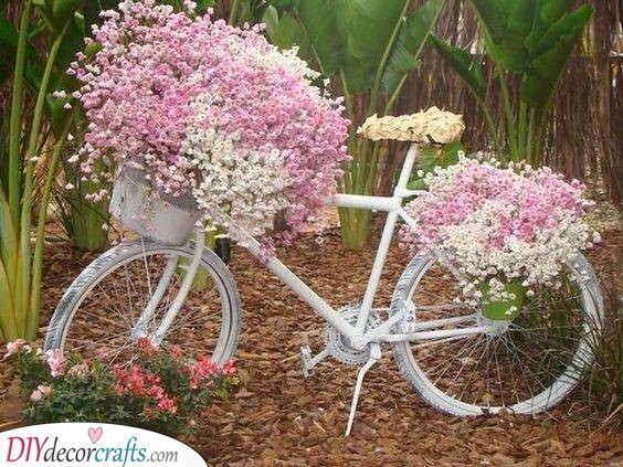 A Blossoming Bicycle - Enchanting and Magical
