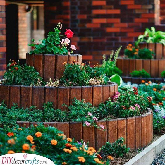 Raised Flower Beds - Garden Bed Ideas