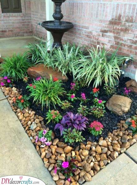 A Combination of Things - Simple Flower Bed Ideas