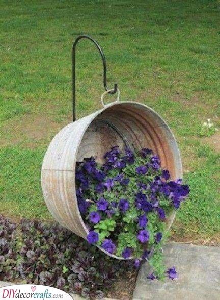 Using a Galvanized Tub - Reimagine and Redesign