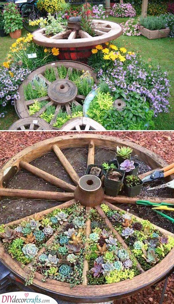 Round and Awesome - Using Recycled Things