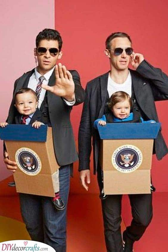 Taking Care of the President - Cute and Funny