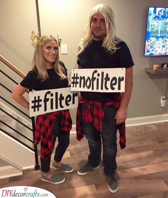Filtering Your Photos - Carnival Costumes for Men