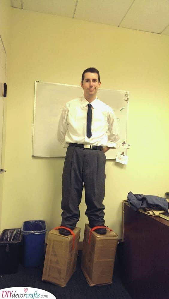Standing on Boxes - Great Carnival Costumes for Men