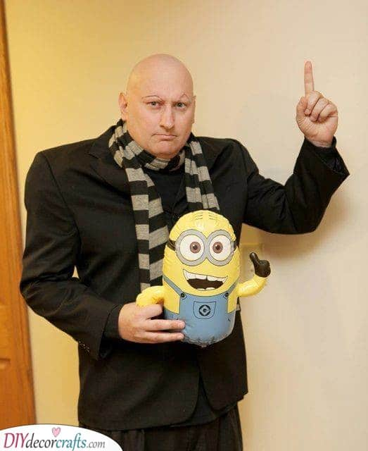 A Gru Costume - Perfect for Carnival