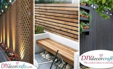 20 VERY CHEAP GARDEN FENCE IDEAS - Cheap Fence Ideas for Backyard