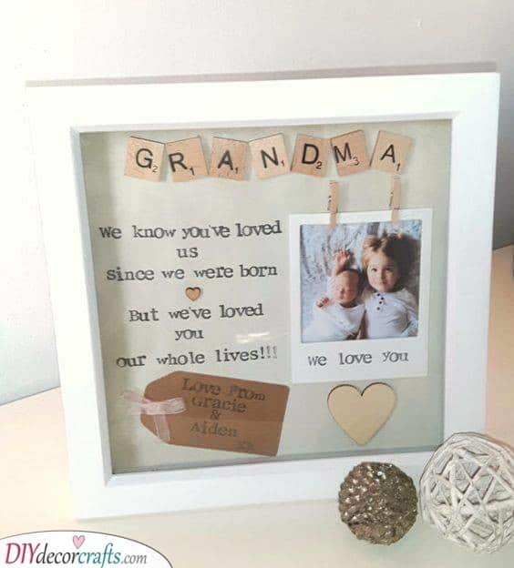 Expressing Love - Message from the Grandkids