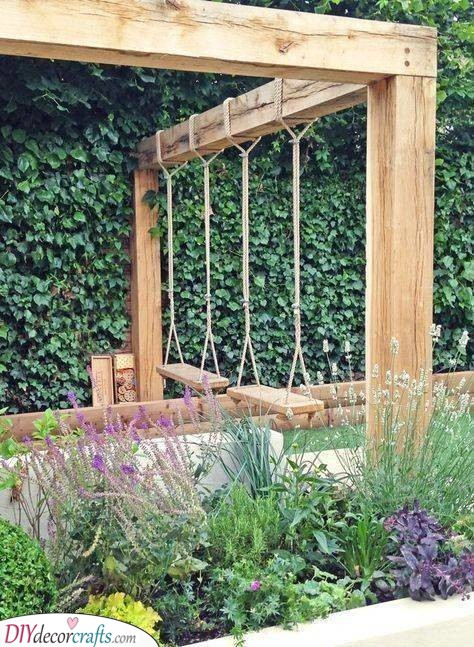 A Swing or Two - DIY Garden Furniture