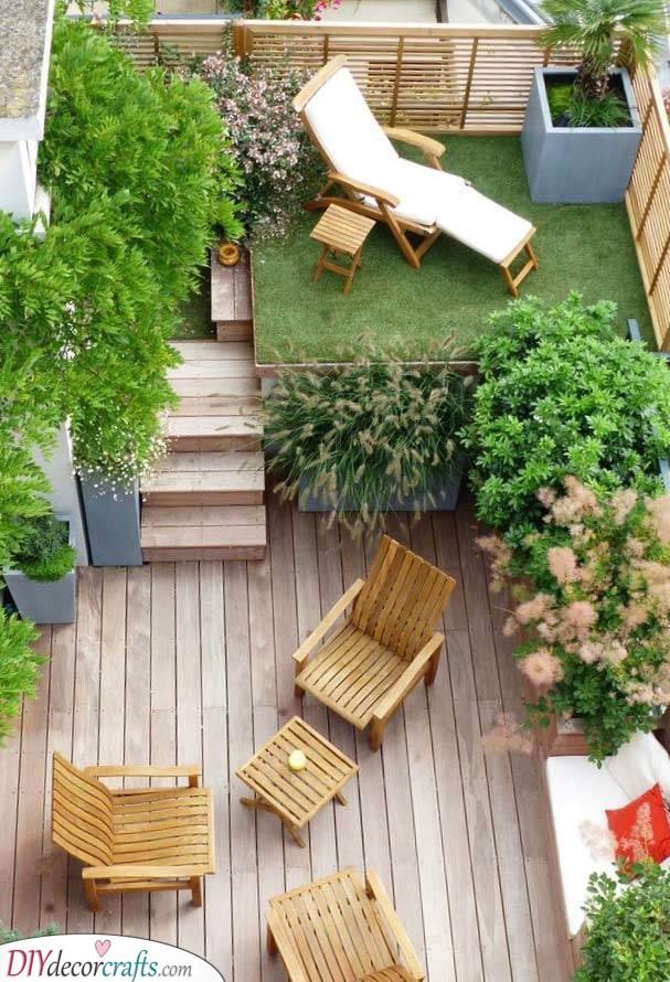 Small Garden Designs - Very Small Garden Ideas on a Budget