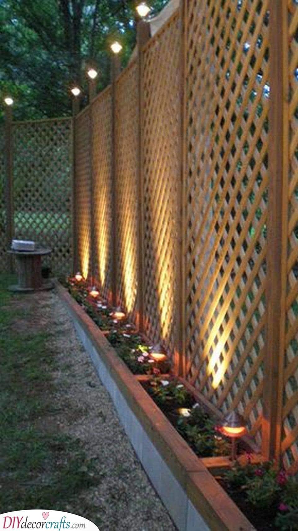 Very Cheap Garden Fence Ideas - Garden Fence Designs