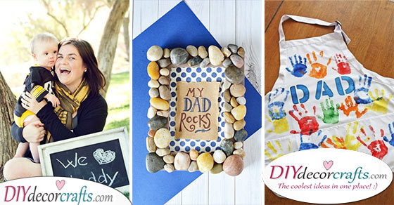 40 BEST FATHER'S DAY GIFTS - DIY Father's Day Gift Ideas