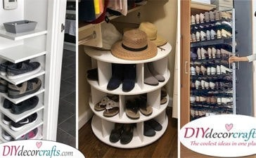 20 SHOE STORAGE IDEAS FOR SMALL SPACES - Shoe Storage Ideas for Small Closets