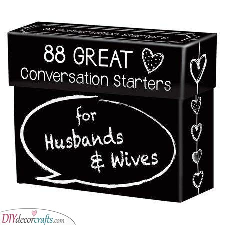 Fun Conversation Starters - Gifts for Married Couples