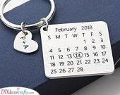 An Important Date - A Keychain Calendar