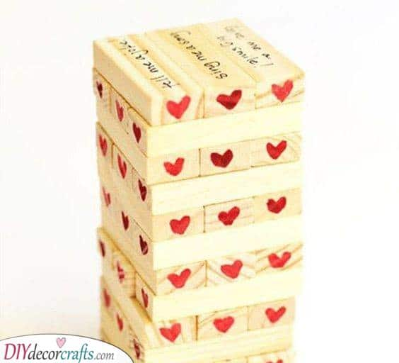 A Game of Jenga - Best Gift Ideas for Couples