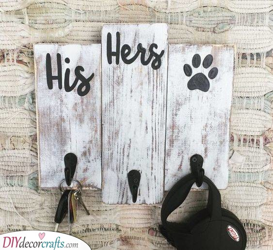 A Key Holder - Perfect for Pets