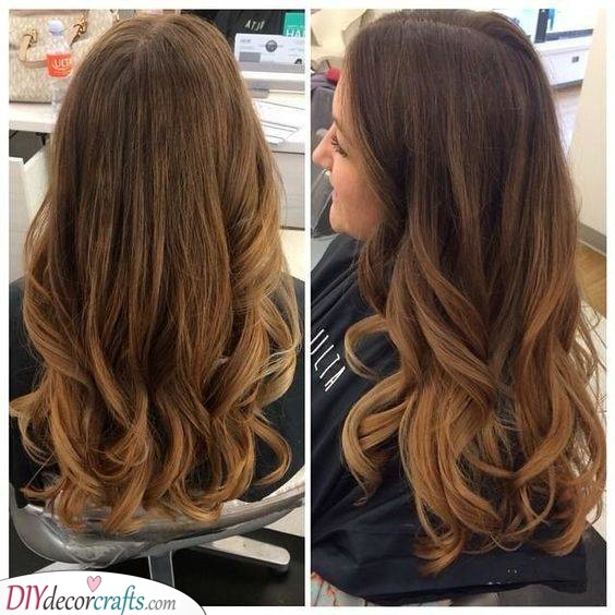 Cute and Cool - Hair Color Ideas for Brunettes for Summer