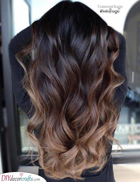 Another Ombre - Hair Color Ideas for Brunettes for Summer