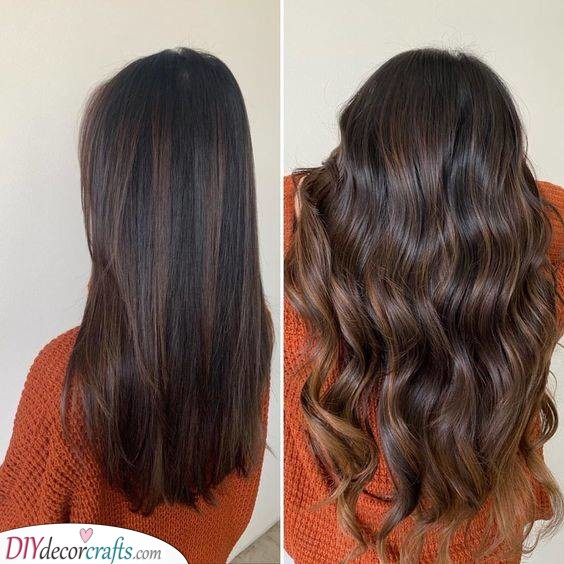 Deep and Lush - Hair Color Ideas for Brunettes for Summer