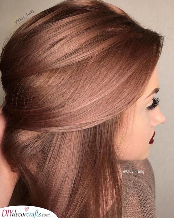 Try Out Rose Gold - Unique and Ethereal