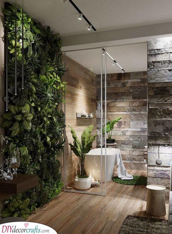 A Sense of Nature - Master Bathroom Ideas