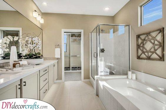 Lovely and Simple - Luxury Master Bathroom Designs