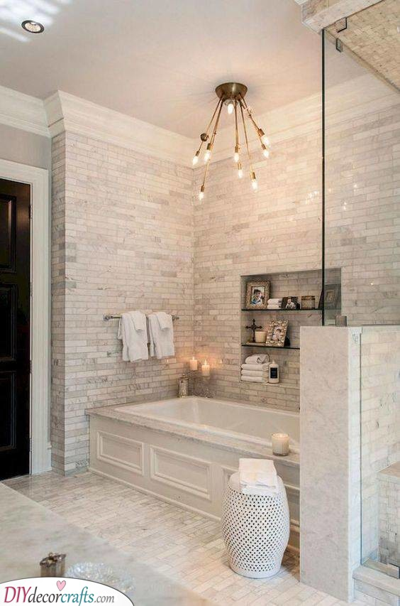 Homely and Cosy - Master Bathroom Ideas