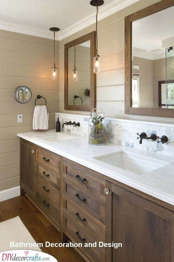 Ranch and Coastal - Modern Master Bathroom Designs