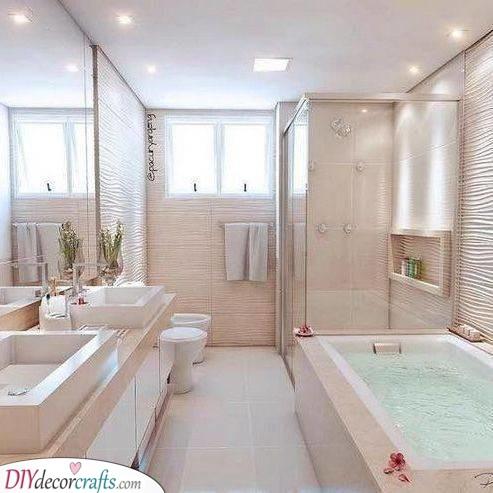 Serene and Peaceful - Modern Master Bathroom Designs