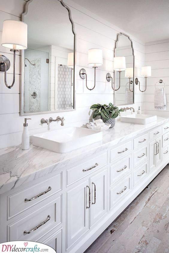 A Rustic Mood - Master Bathroom Remodel