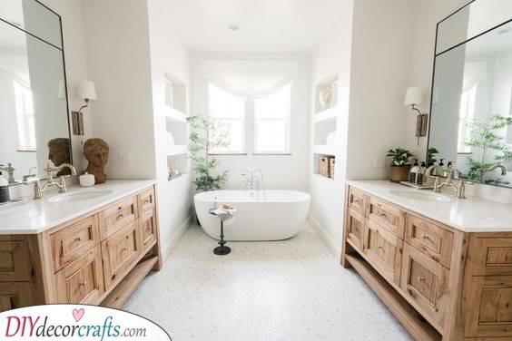 Creating Space - Modern Master Bathroom Designs