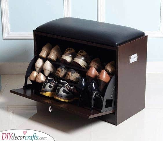 Another Shoe Bench - An Easy Solution
