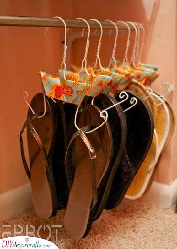 Making Your Own Shoe Hangers - Handmade Crafts