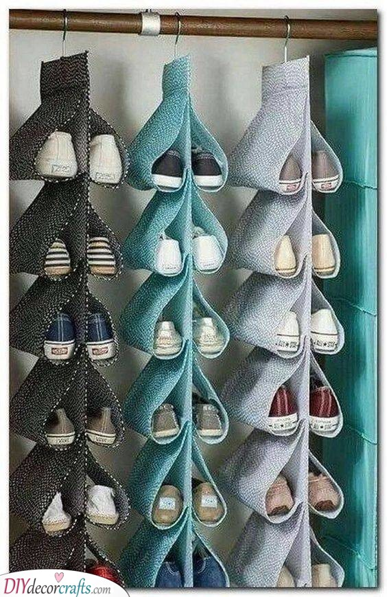 Clever and Clean - Shoe Storage Ideas for Small Spaces