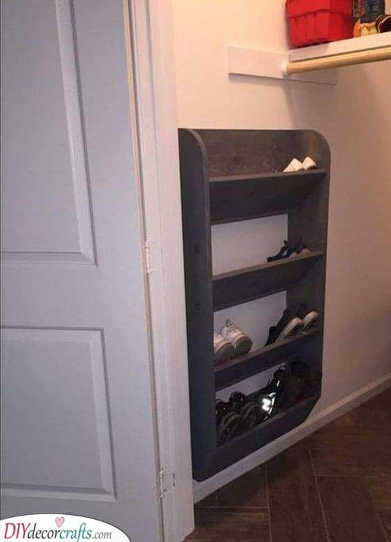 Shoe Storage Ideas For Small Spaces Shoe Storage Ideas For Closets
