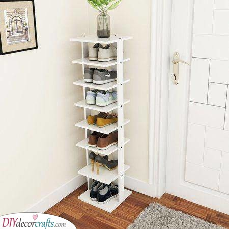 Multi Shoe Rack - Shoe Storage Ideas for Small Spaces