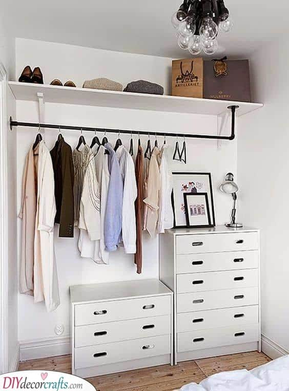 Organised - Storage Ideas for Small Bedrooms on a Budget