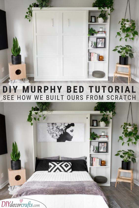 A Murphy Bed - Built it Yourself