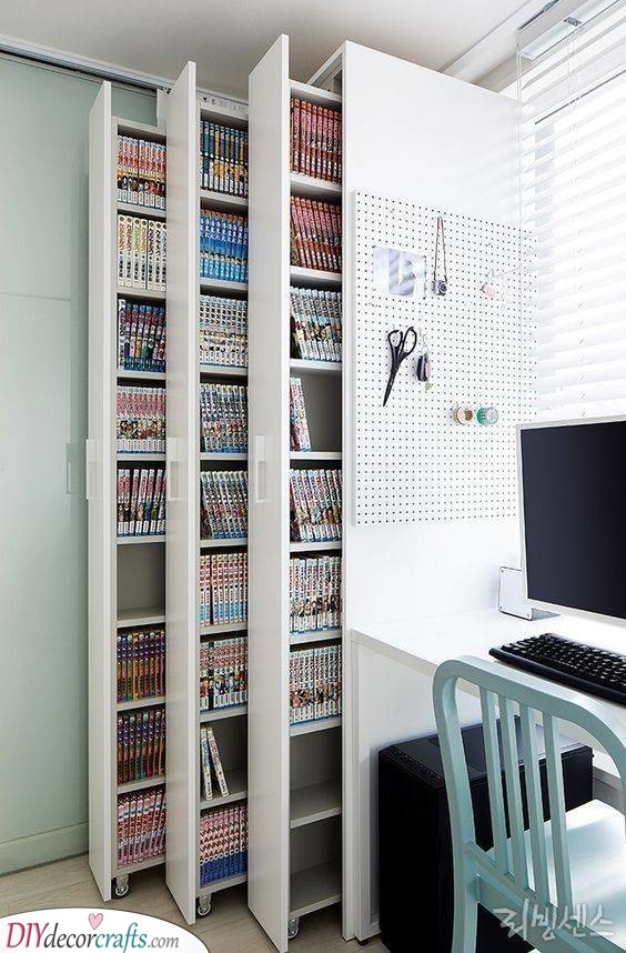 Slim Shelves - Practical and Clever Choices
